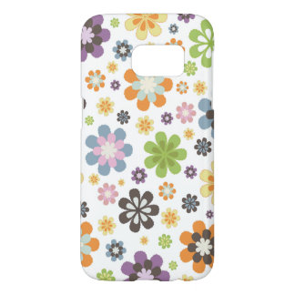 Whimsical Flowers Pattern Samsung Galaxy S7 Case
