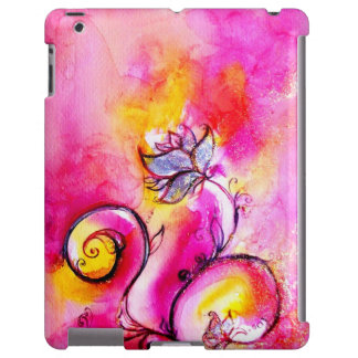 WHIMSICAL FLOWERS pink yellow purple