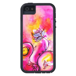 WHIMSICAL FLOWERS pink yellow purple iPhone 5 Cover