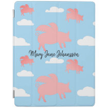 Whimsical Flying Pigs iPad Smart Cover