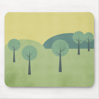 Whimsical Forest Mouse Pad