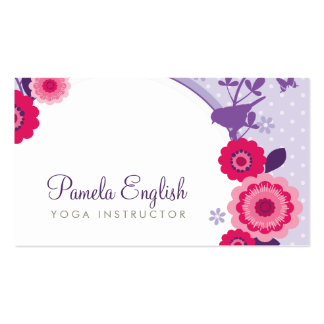 WHIMSICAL FRESH BUSINESS CARD :: enlightened 2