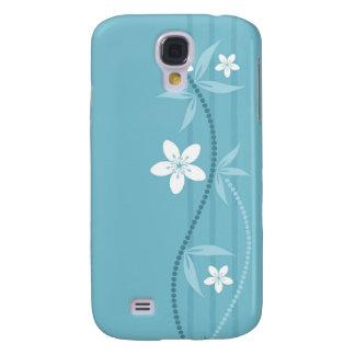 Whimsical Garden Blue  Galaxy S4 Case