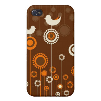 Whimsical Garden i iPhone 4/4S Cover