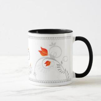 Whimsical Garden Mug Design