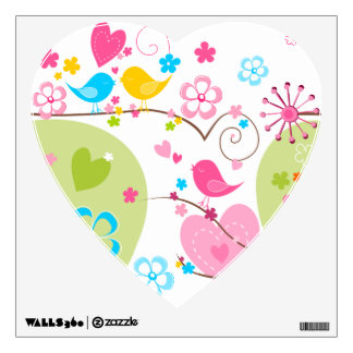 Whimsical Garden Wall Decal
