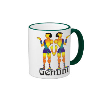 Whimsical Gemini Mugs