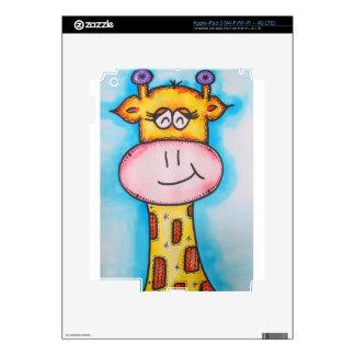 Whimsical Giraffe iPad 3 Skin