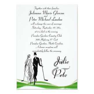 Golf Invitations & Announcements | Zazzle