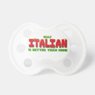Whimsical Half Italian Pacifier BooginHead Pacifier