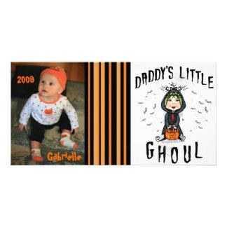 Whimsical Halloween Custom Photo Card