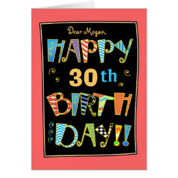Funny 30th birthday cards greeting photo cards zazzle whimsical happy 30st birthday funny card bookmarktalkfo Choice Image