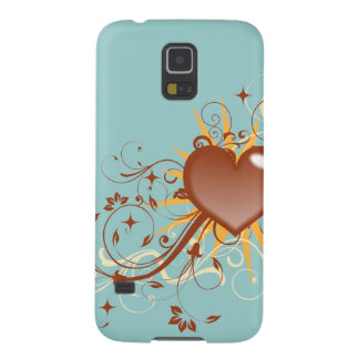 Whimsical Heart Case For Galaxy S5