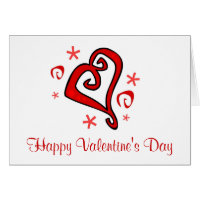 Whimsical Hearts Greeting Cards