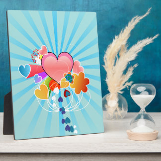 Whimsical Hearts Plaques