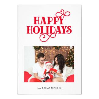 Whimsical Holiday Photo Card
