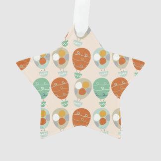 Whimsical Hot Air Balloons Ornament