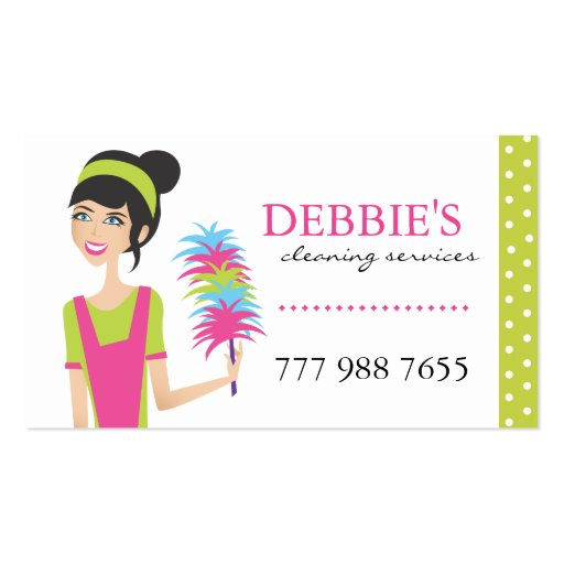 Cleaning business card business card templates page8 bizcardstudio whimsical house cleaning services business cards friedricerecipe Image collections