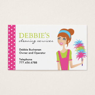 housekeeping business cards