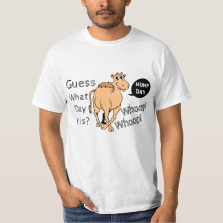 Whimsical Hump Day Camel Design Shirt