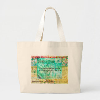 Whimsical JANE AUSTEN Pride and Prejudice QUOTE Canvas Bags