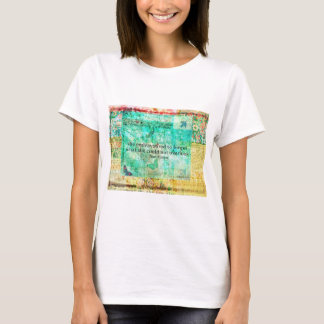 Whimsical JANE AUSTEN Pride and Prejudice QUOTE T-Shirt