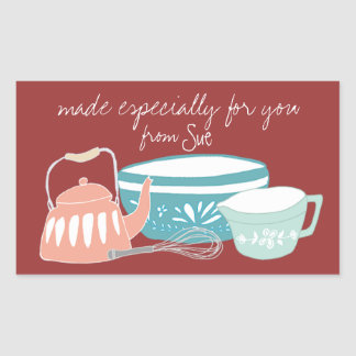 Whimsical Kitchen Gift Stickers