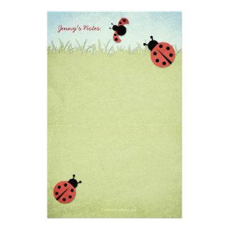 Whimsical Ladybugs Stationery