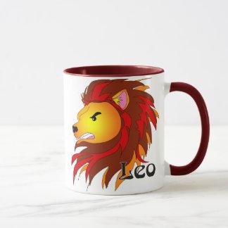 Whimsical Leo Mugs