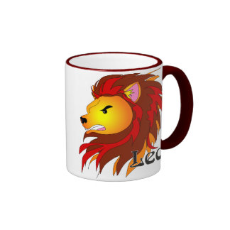 Whimsical Leo Mugs