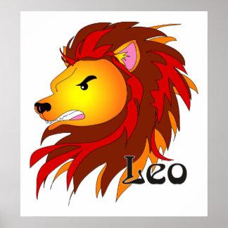 Whimsical Leo Print