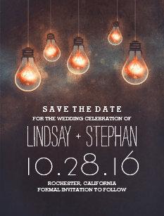 light bulb invitations zazzle