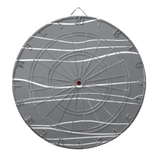 Whimsical Lines (Grey) Dartboards