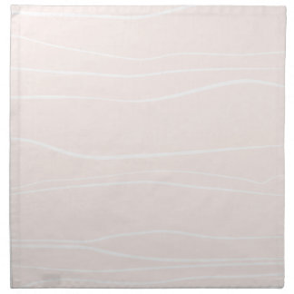 Whimsical Lines (Pink) Cloth Napkin