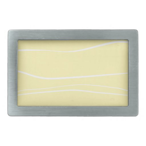 Whimsical Lines (Yellow) Belt Buckles