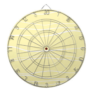 Whimsical Lines (Yellow) Dartboards