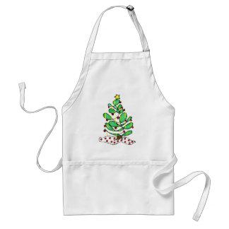 Whimsical Little Christmas Tree Apron