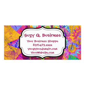 Whimsical Lollipop Candy Tree Business Cards