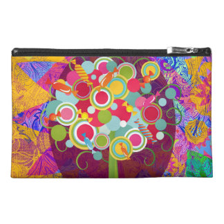 Whimsical Lollipop Candy Tree Colorful Abstract Un Travel Accessory Bag
