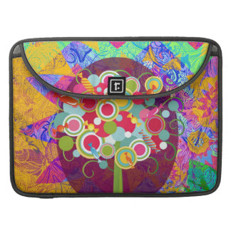 Whimsical Lollipop Candy Tree Colorful Abstract Un Sleeves For MacBook Pro
