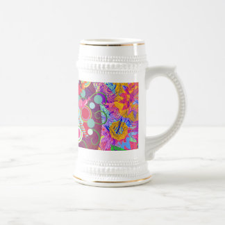 Whimsical Lollipop Candy Tree Colorful Abstract Un Coffee Mug