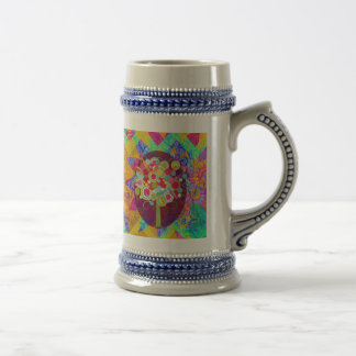 Whimsical Lollipop Candy Tree Colorful Abstract Un Mugs