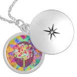 Whimsical Lollipop Candy Tree Colorful Abstract Un Pendants