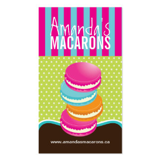 Whimsical Macarons Business Cards