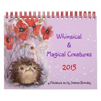 Whimsical & Magical Creatures Calendar