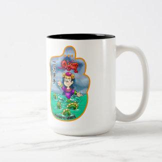 Whimsical Mitzu Gami 15 oz Mug