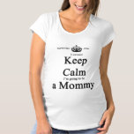 Whimsical Mommy-To-Be Cannot Keep Calm Light Shirt