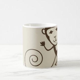 Whimsical Monkey Coffee Mug