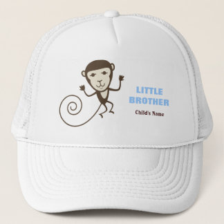 Whimsical Monkey Little Brother Trucker Hat