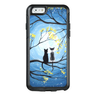 Whimsical Moon with Cats OtterBox iPhone 6/6s Case